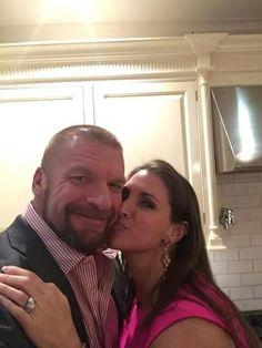 Paul aka Triple H & Stephanie. Wishing you a Happy Valentine's Day