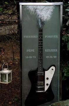Interesting Headstones-Freedbird Forever... very cool!