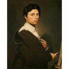 "Ingres, ""autoportrait"""