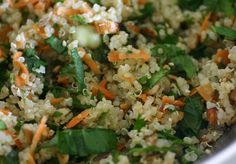 Alkaline Diet Recipe #148: Quinoa Summer Salad - I love it because it's got BIG flavours and it includes a helping of quinoa – my favourite ingredient (yes, got one of those too. Want to know my favourite colour?)
