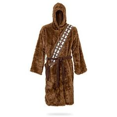 Realized what a nerd I was when I got all excited after seeing this #Chewbacca #Robe