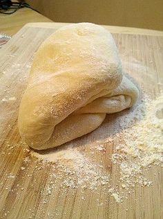 Alton Brown's pizza dough {my favorite}