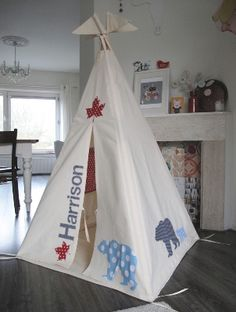 kids teepee6 50 Cute Kids Teepees