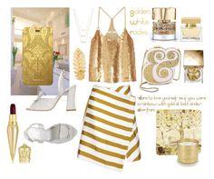 """You are a golden white rainbow"" by signorinapersonalshopper on Polyvore featuring moda, Ballard Designs, TIBI, Kate Spade, Sgn Giancarlo Paoli, Tom Dixon, Dolce&Gabbana, Smith & Cult, Burberry e Christian Louboutin"