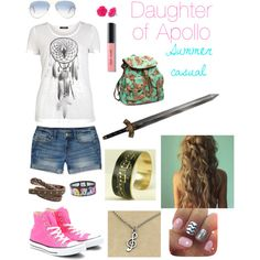 Daughter of Apollo- Summer Casual Made by dudeimahylian
