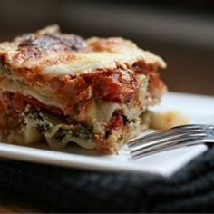 Spinach-and-Zucchini Lasagna: a layer-by-layer pictorial.