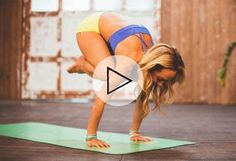 Jump Into Crane Pose With This Stability Practice Video