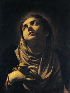 The Grieving Madonna  Simon Vouet—1624