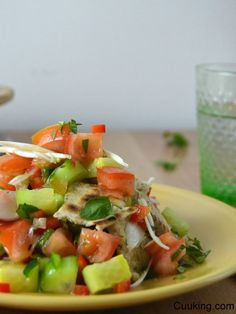 Cuuking!: Fattoush, ensalada libanesa de pan