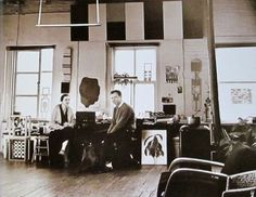 om pom agnes martin Ellsworth kellys studio nyc 1957