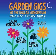 Dallas Events: Garden Gigs at the Dallas Arboretum