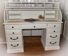 How Sweet It Is: Trash to Treasure-Roll Top Desk Using Annie Sloan Chalk Paint