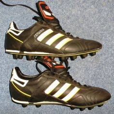 621f1a4ffb5 Vintage Collectors Shoes Adidas Football Shoes Perugia FG World Cup 1990  New