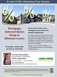 free mortgage flyer templates - easily adapted mortgage flyer template add your mortgage