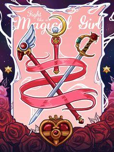 magical girls cardcaptor sakura sailor moon revolutionary girl utena