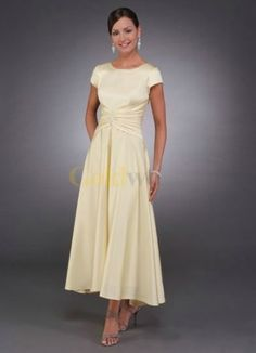 Tea Length Casual Mother Of The Bride Dresses
