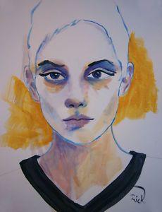 Michael Hammer @ Galerie SHG - Acrylics / Pastel on Paper | eBay