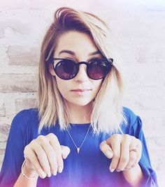 Lauren Conrad Debuts A Choppy Lob—See It Here!