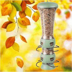 Garden Song Select-A-Bird Tube Bird Feeder for sale online Suet Bird Feeder, Bird Feeder Plans, Wild Bird Feeders, Humming Bird Feeders, Bird Feeders For Sale, Glass Hummingbird Feeders, Recycled Jars, Clean Chicken