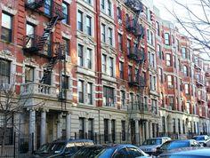 Beautiful Harlem architecture, Manhattan, New York City