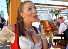Celebrate Oktoberfest With German Beer. http://www.oktoberfesthaus.com