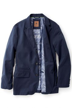 4b54f85d95 On The Fly Lightweight Year Round Travel Blazer by Territory Ahead®