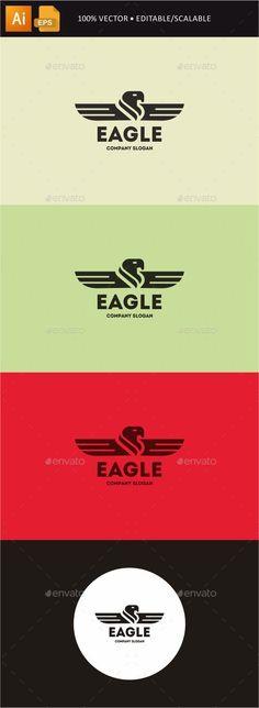 Eagle Logo Template #design #logo Download: http://graphicriver.net/item/eagle/11860829?ref=ksioks