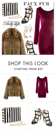 """Yoins Faux Fur Coats"" by mada-malureanu ❤ liked on Polyvore featuring fauxfurcoats, yoins, yoinscollection and loveyoins"