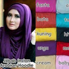 jual diskon (KHUSUS GROSIR 10 PCS) Hijab Arabian Hoodie Online