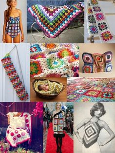 5 part tutorial: how to knit a granny square. i've been meaning to learn to crochet for years.