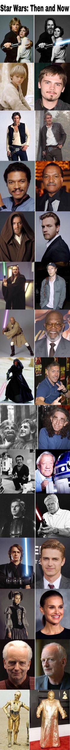 Star Wars now and then