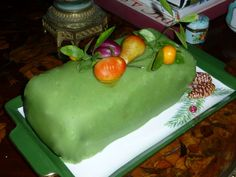 Marzipan Cake, Butter Dish, Dishes, Desserts, Food, Book, Tailgate Desserts, Deserts, Tablewares