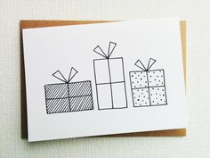 Christmas card - Card - Kerstkaart - Happy new year card - Card christmas - Holiday card - Christmas gift - xmas - Presents - Handdrawn