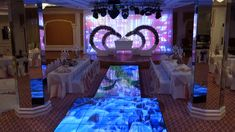 Wedding Led Dance Floor, Event Led Dance Floor, Disco digital display da... Led Dance, Led Display Screen, Current Picture, Wedding Decorations, Table Decorations, Light Project, Hotel Wedding, Entertaining, Candles