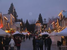 Nevada City, California Victorian Christmas 2013.