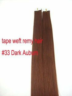 40 Pieces Seamless Remy Tape in 100 Grams Hair Extensions #33 Auburn by MyLuxury1st. $107.00. SHIPS IN 6-10 BUSINESS DAYS; IF YOU CAN NOT WAIT, DO NOT ORDER!  CONTACT MYLUXURY1ST HAIR EXTENSIONS IF YOU HAVE ANY QUESTIONS!