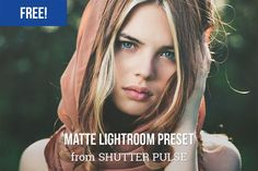 lightroom preset matte free