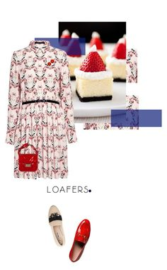 postcard from far away by dear-inge on Polyvore featuring Mother of Pearl, Gucci, Chanel and loafers