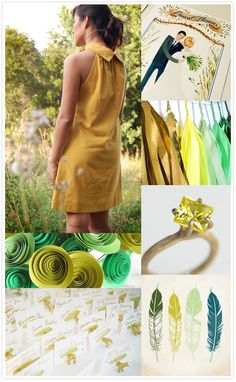 rustic mustard and sage wedding inspiration from current Etsy listings!