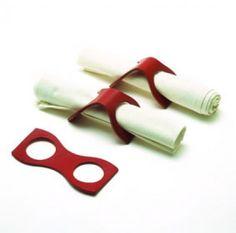 napkin rings,para hacer con acetato