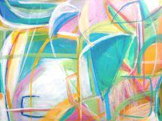 Abstract Art Print - Arboretum