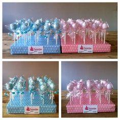 babyshower cake pops - Jen's baby shower - Kuchen Baby Shower Cakes, Baby Shower Kuchen, Baby Shower Treats, Pop Baby Showers, Baby Boy Cakes, Baby Shower Balloons, Baby Shower Favors, Baby Shower Parties, Baby Shower Gifts
