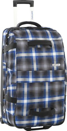 Burton Wheelie Double Deck Travel Bag Cobalt Springer Plaid - http://www.downtown.nl/burton-wheelie-flight-deck-falcon-mocha-block-31697