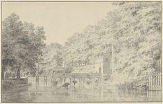 Poort van het kasteel te Buren, Cornelis Pronk, 1759