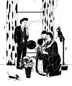 Nuclear Family by Laura Breiling #illustration