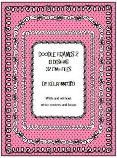 Fun Doodle Frame Collection! CU OK!!!