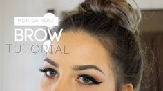 Brow Tutorial | Easy and Natural | MonicaRose