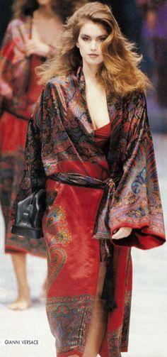 Gianni Versace AW 1989