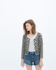 CUT - OUT JACKET - Collection - Stock clearance - TRF - SALE | ZARA United