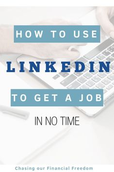 LinkedIn tips for landing a job. How to use LinkedIn to get a job. The LinkedIn secret tools to help you get a job.  #linkedintips #linkedin #jobsearch #getajob #job #work #careertips #careeradvice